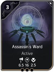 Assassin's Ward card