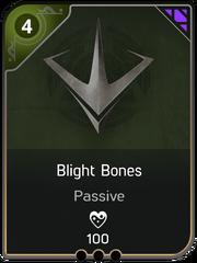 Blight Bones card