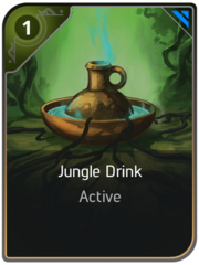 Jungle Drink card