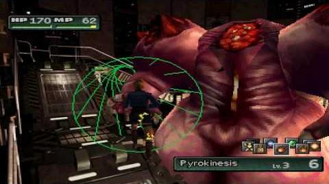 Parasite Eve 2 PS1 Boss 12