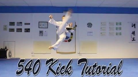 Taekwondo 540 Kick Tutorial