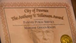 Tellenson Award