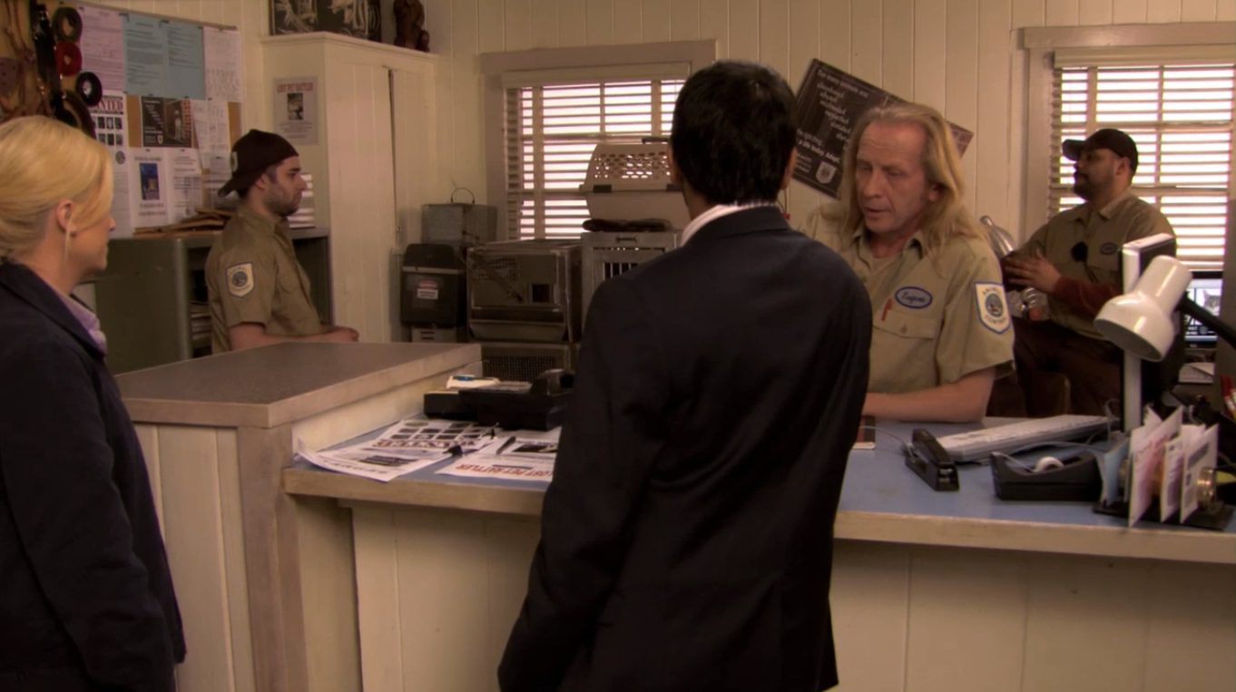 parks and recreation meet animal control