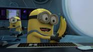 Minions eat bana