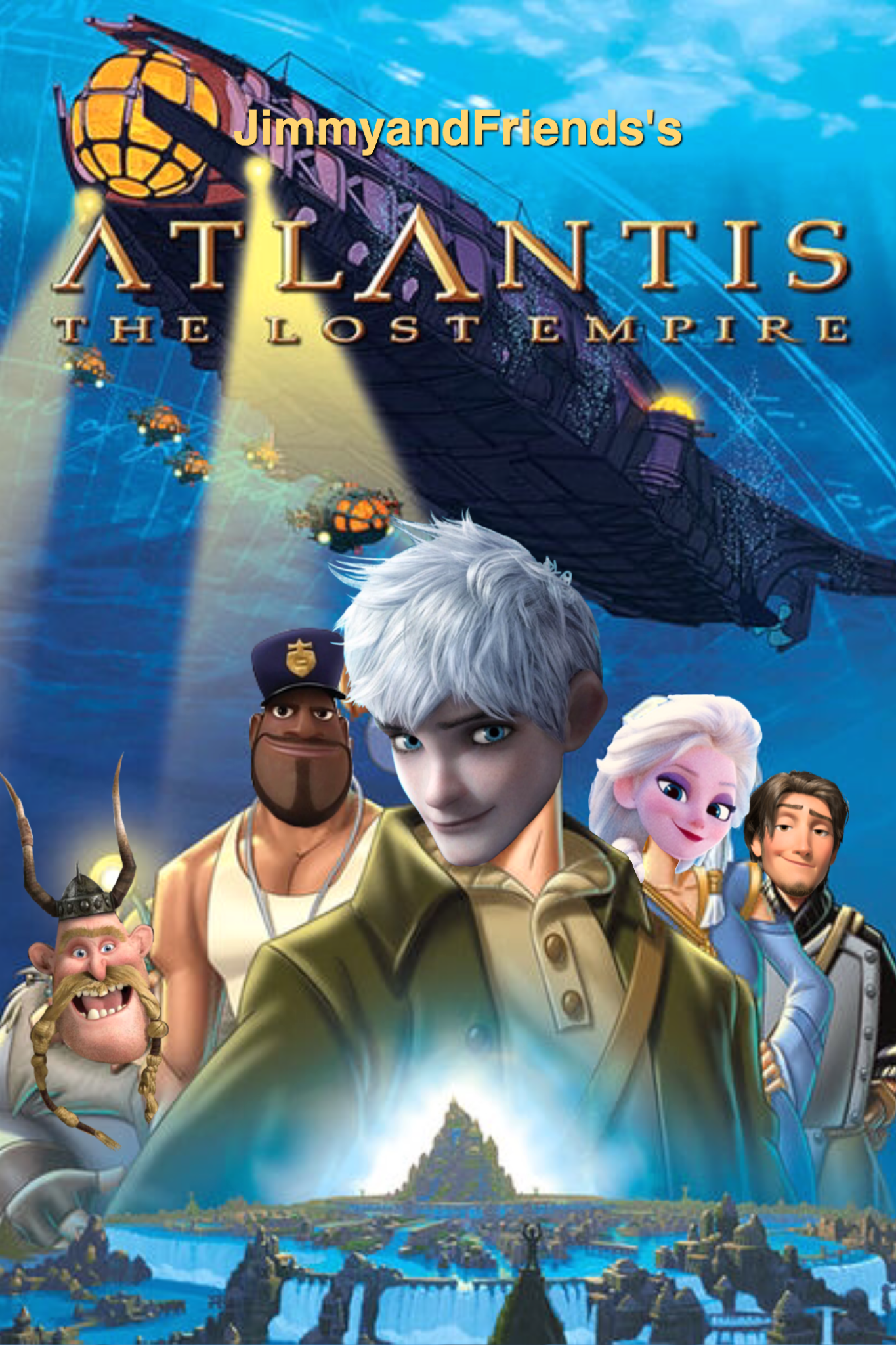Atlantis: The Lost Empire (JimmyandFriends Style)   The ...