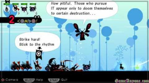 Let's Play Patapon HD - Mission 27 - Zigoton Queen