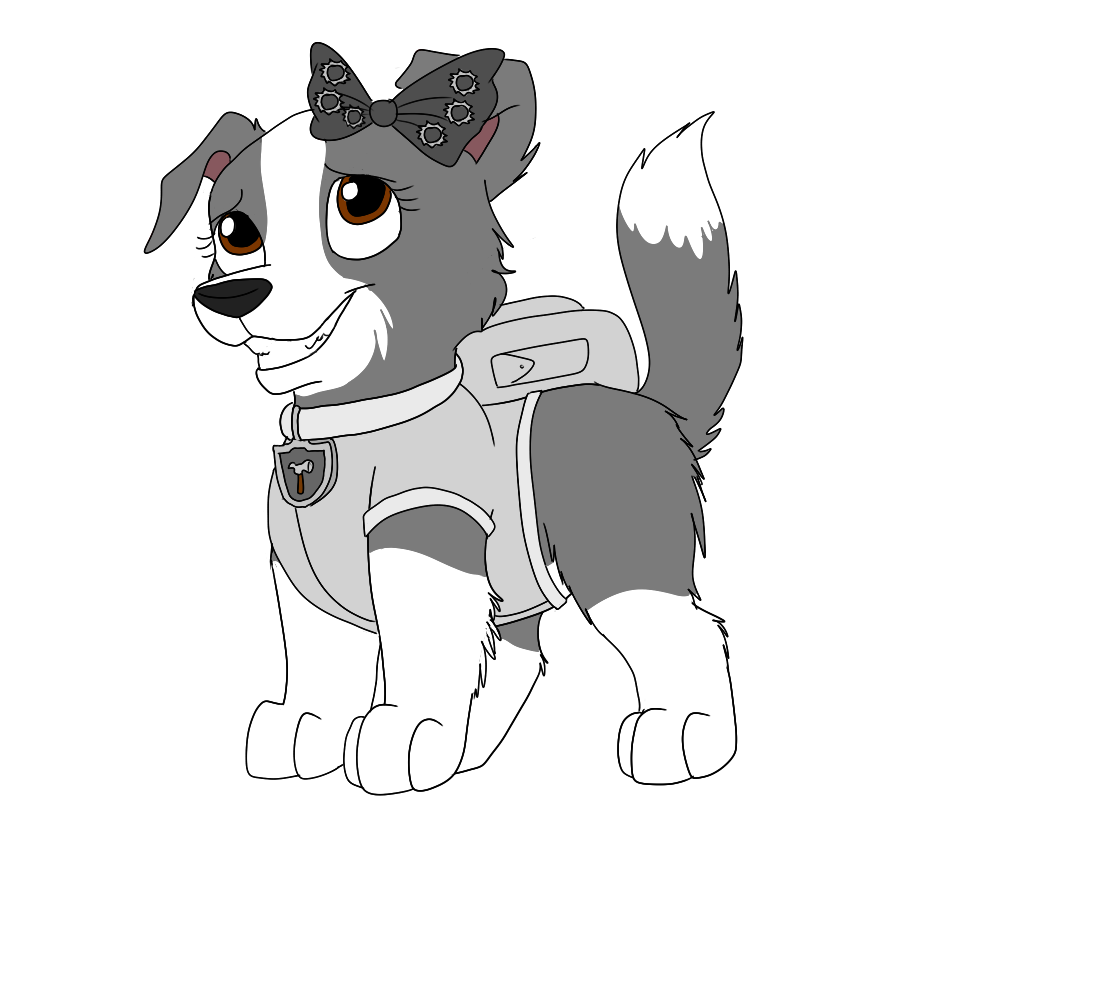 Paw Patrol Tundra Coloring Pages : Sweetie paw patrol fanon wiki fandom powered by wikia