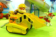 Paw patrol cars and figures