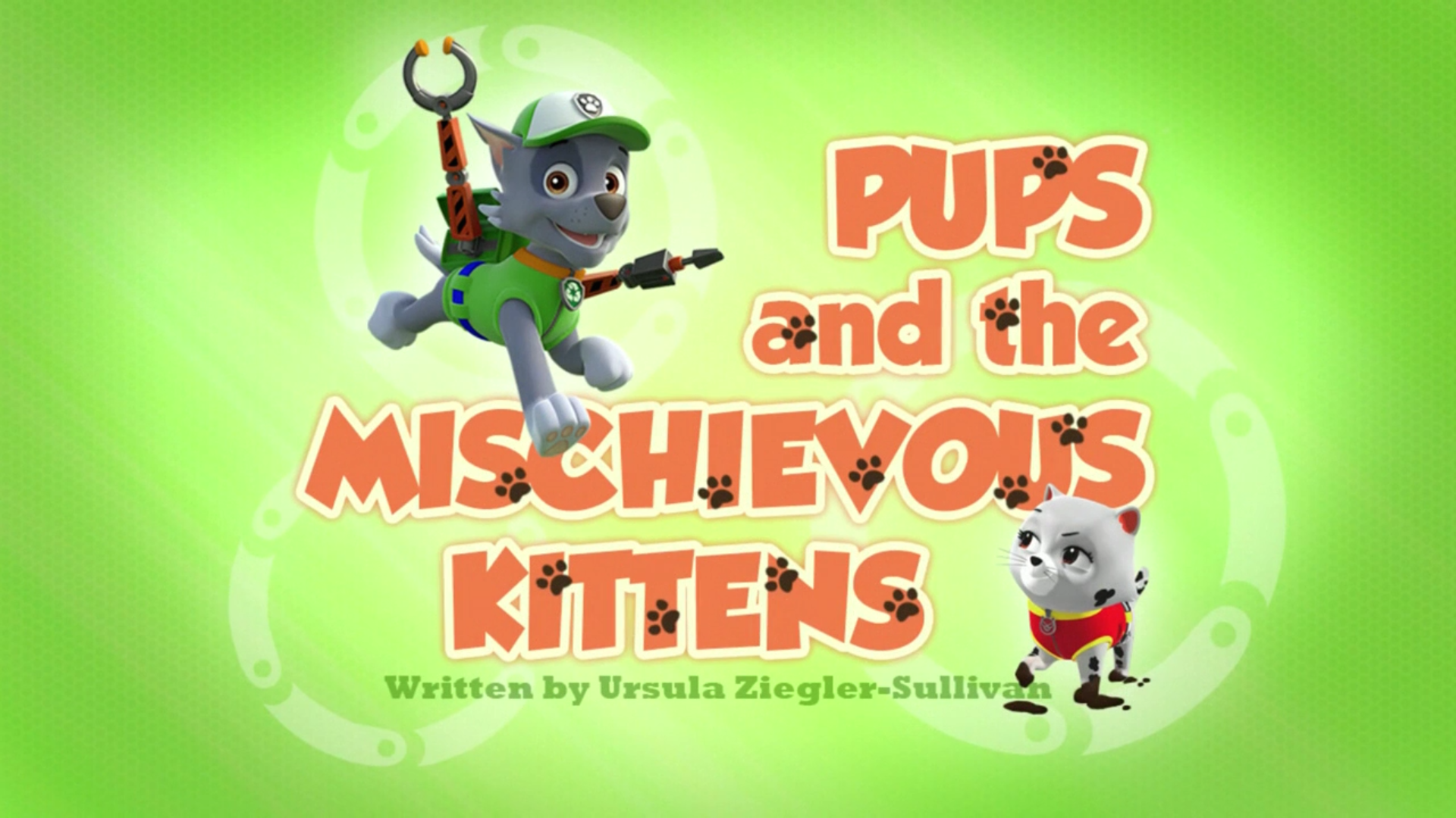Cat Chase Paw Patrol Pups Save Mischievous Kittens