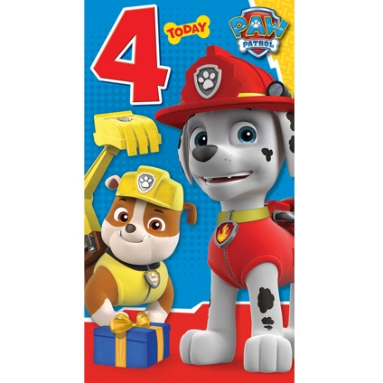 Image Birthday Card 4 Year Jpg Paw Patrol Wiki