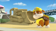 Rubble with his sand rig