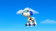 Robo-Dog Flying
