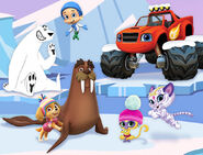 PAW Patrol - Wally the Walrus - Winter Short