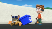 Chase saves the Recycling Bin