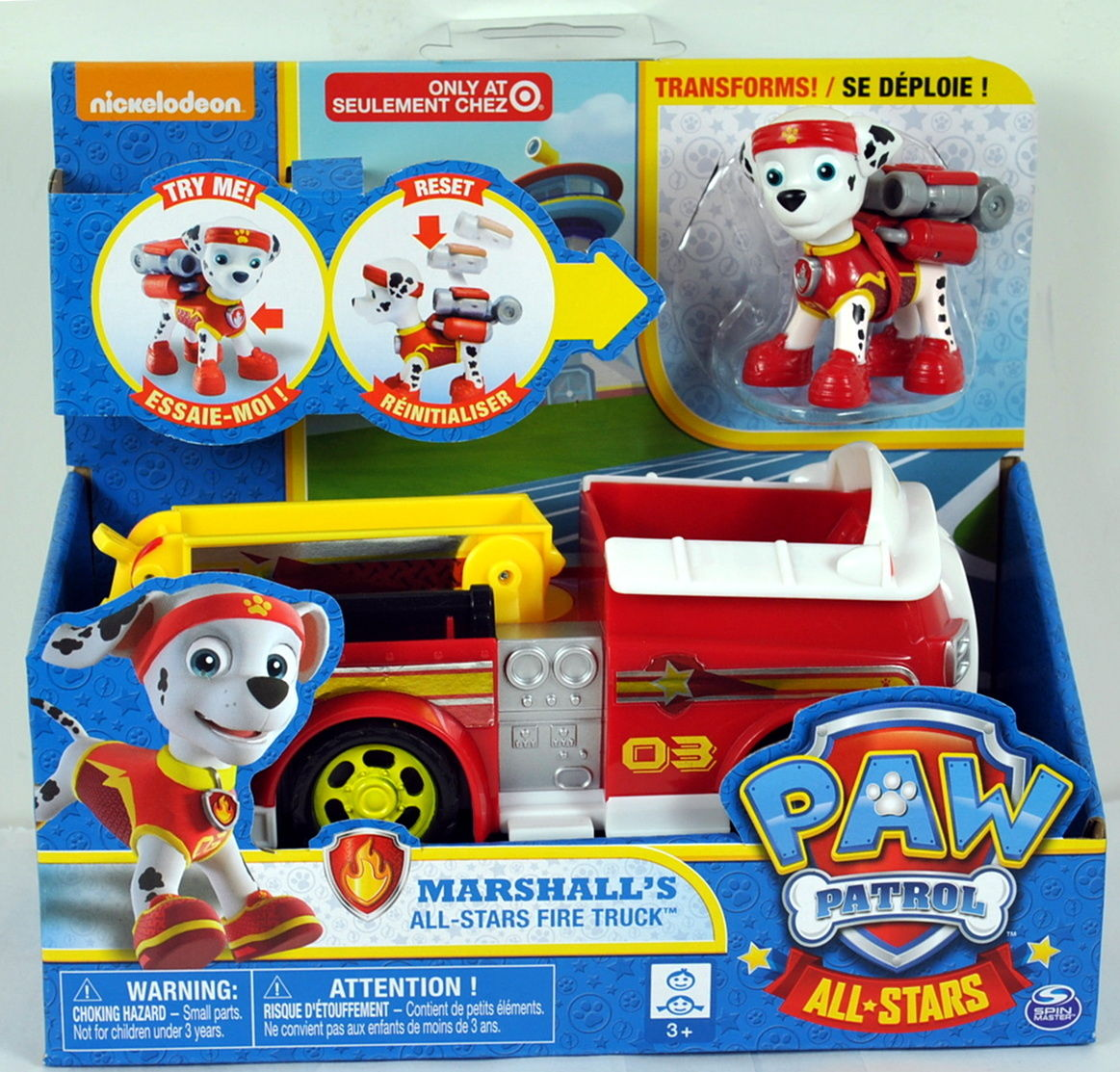 Image Marshall S All Stars Fire Truck Target Exclusive