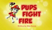 Pups Fight Fire