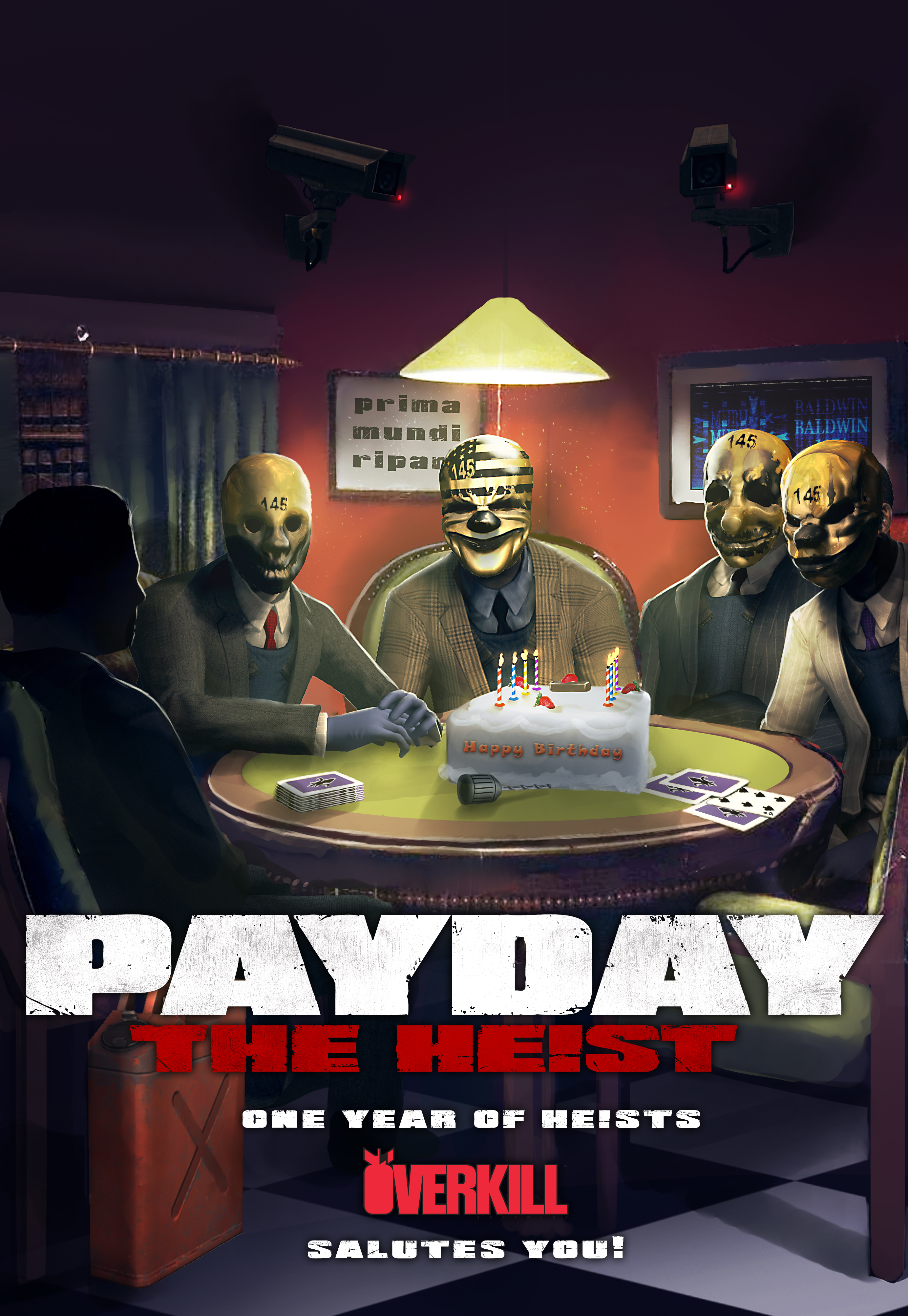 Payday The Heist Characters