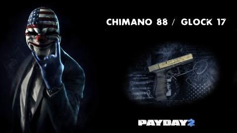 Payday 2 Weapons (Chimano 88 Glock 17)