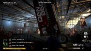 Slaughterhouse truck falling