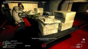Payday The Heist First World Bank - Overkill Difficulty