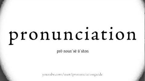 Say Pronunciation