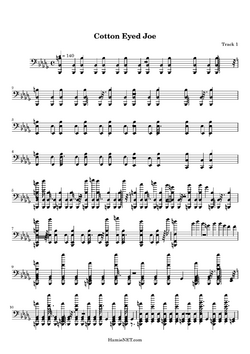 Cotton-Eyed-Joe-sheet-music-page 33515-1-1