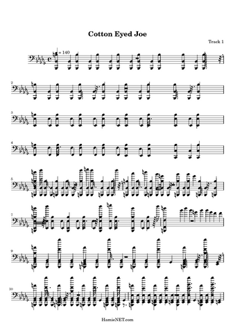 File:Cotton-Eyed-Joe-sheet-music-page 33515-1-1.png