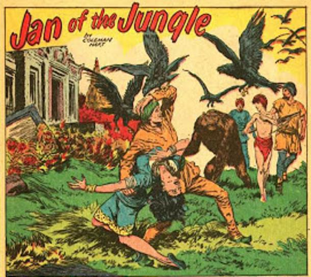 Free Comic Book Day History: Jan Of The Jungle (Fiction House)