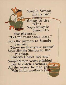 Simple Simon 1 - WW Denslow - Project Gutenberg etext 18546