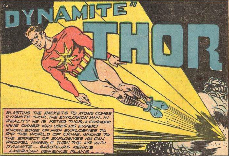 Image result for dynamite thor