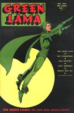 Green Lama 1