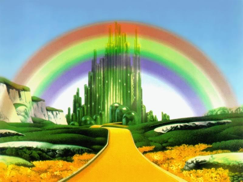 Rainbow oz public domain super heroes fandom powered for Emerald city nickname