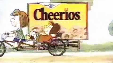 Peanuts Cheerios Commercial 1986