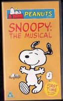 Snoopy The Musical UK VHS 2004