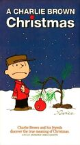 A Charlie Brown Christmas Shell VHS Cover