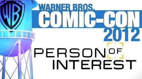 Comic-Con 2012 Person of Interest Panel