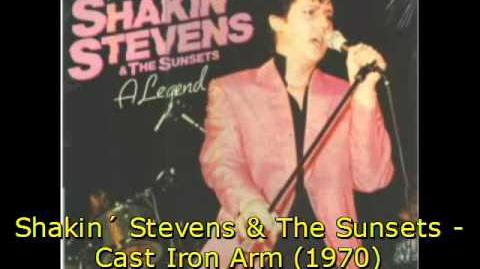 Shakin´ Stevens & The Sunsets - Cast Iron Arm (1970)