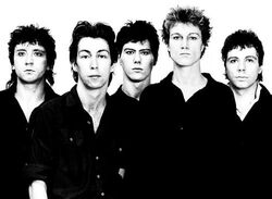 Ultravox Foxx band