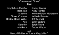 Crimson and Clover Voice Cast