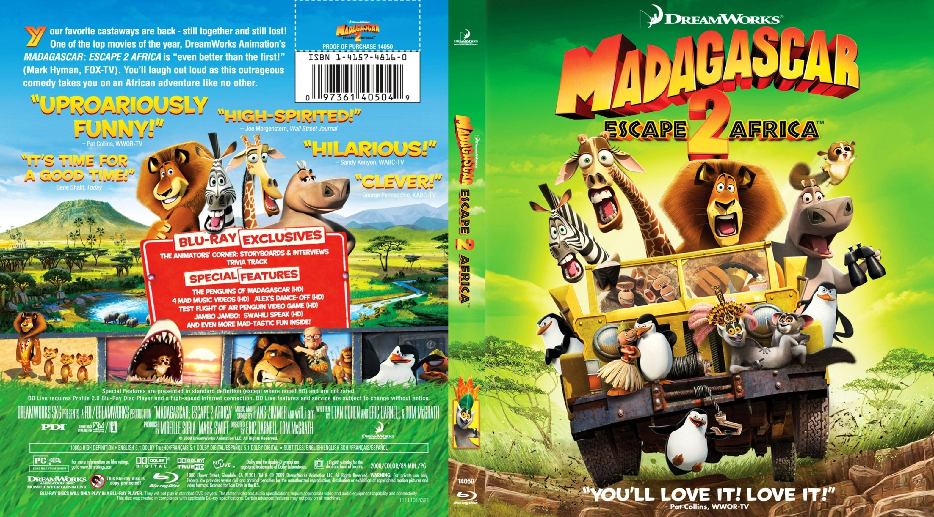 Madagascar 2 Movie Madagascar Escape 2 Africa r1