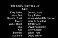 The Really Really Big Lie Voice Cast