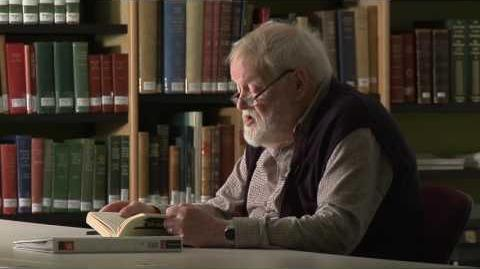 "Michael Longley reads his poem ""Badger""."