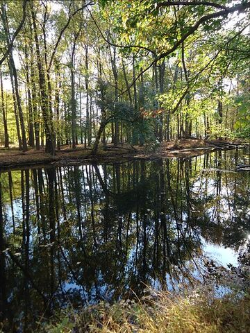 File:River with reflections of trees autumn in Cranford New Jersey.JPG