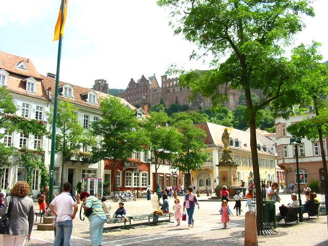 File:Heidelberg Germany 10082005 Square1.jpg