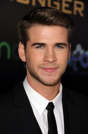 Liam Hemsworth at premiere of Hunger Games