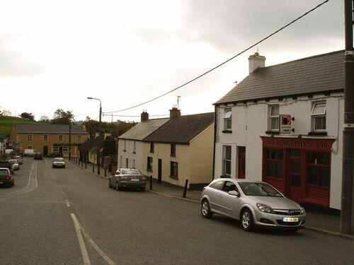 Main Street in Ballymore Eustace