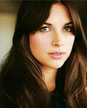 Amelia Warner in golden light