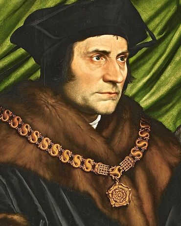 Thomas More by Hans Holbein the Younger