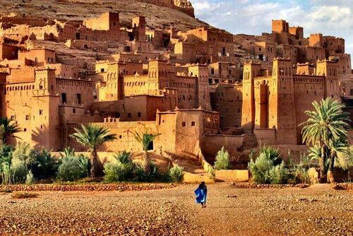 Beautiful gorgeous Ait Benhaddou