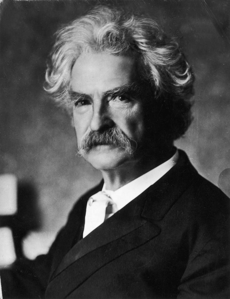 Mark Twain People Don T Have To Be Anything Else Wiki